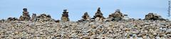 Holy Island Pebbles (andreamcevoy76) Tags: beach pebbles holyisland lindesfarne rockpiles