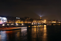 Paris (Jorkew) Tags: street longexposure light motion paris france building tower tourism saint seine architecture night canon river dark de eos lights la boat search long exposure haussmann ship tour nacht eiffeltower arts ile artificial eiffel des le latoureiffel l searchlight saintgermain frankrijk usm fr iledefrance canoneos f28 canonef2470mmf28lusm ef ef2470mmf28lusm parijs parisian ponts germain quartier pontdesarts rivier laseine 2470mm canoncamera canoneflens saintgermainlauxerrois canonlens 2470mmf28 50d lauxerrois lusm canoneosdigital canonllens canoneos50d 2470mmf28lusm gistave