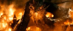 Smaug the Dragon attacking Lake Town (Guardian Screen Images) Tags: from mountain lake film movie fire book golden j town king dragon dale dwarf earth five or north under attack kingdom battle r novel lonely middle drake hobbit tolkien magnificent attacking jrr smaug the 2014 laketown armies erebor arkenstone
