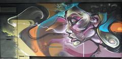 Street Art, Croydon, Apr 2015 (roger.w800) Tags: portrait streetart abstract london art painting graffiti mural aerosol croydon streetscenes spraycanart