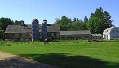 Ferme - Farm (Jacques Trempe 2,230K hits - Merci-Thanks) Tags: horse beach cheval farm maine route kennebunk ferme