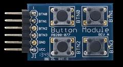 PmodBTN: 4 User Pushbuttons (Digilent, Inc.) Tags: hardware student board system filter user button push professor electronic maker input schmitt hobbyist btn pushbuttons triggers inverting digilent pmod debouncing pmodbtn