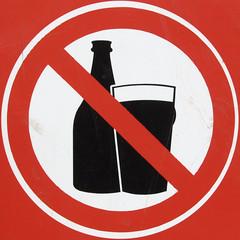 No Beer (chrisinplymouth) Tags: red beer sign warning circle no drinking round squaredcircle squircle alchohol circular nosign forbidding cw69x