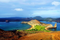 Bartolomé Island, Galapagos Islands, Ecuador, Classic (picadventures) Tags: classic beach landscape ecuador bluewater scenic unesco worldheritagesite galapagos turtles boating snorkelling volcanic jamesbay bartolomé bartoloméisland