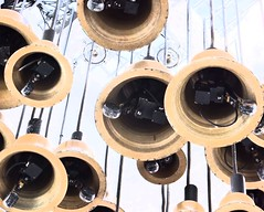 Bells of the Alice Clock, College Street, Belfast (John D McDonald) Tags: bells belfast collegestreet northernireland ni chimes carillon ulster fountaincentre aliceclock aliceclockbelfast collegestreetbelfast fountaincentrebelfast