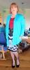 Blue Cardigan (Trixy Deans) Tags: hot cute tv high highheels cd crossdressing tgirl tranny transvestite heels heel transgendered crossdresser crossdress shortskirts transsexual shemale shortskirt trixy tgirls shemales transvesite trixydeans heelssexy