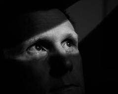 Contemplative (Larry McCulloch) Tags: bw self contemplative