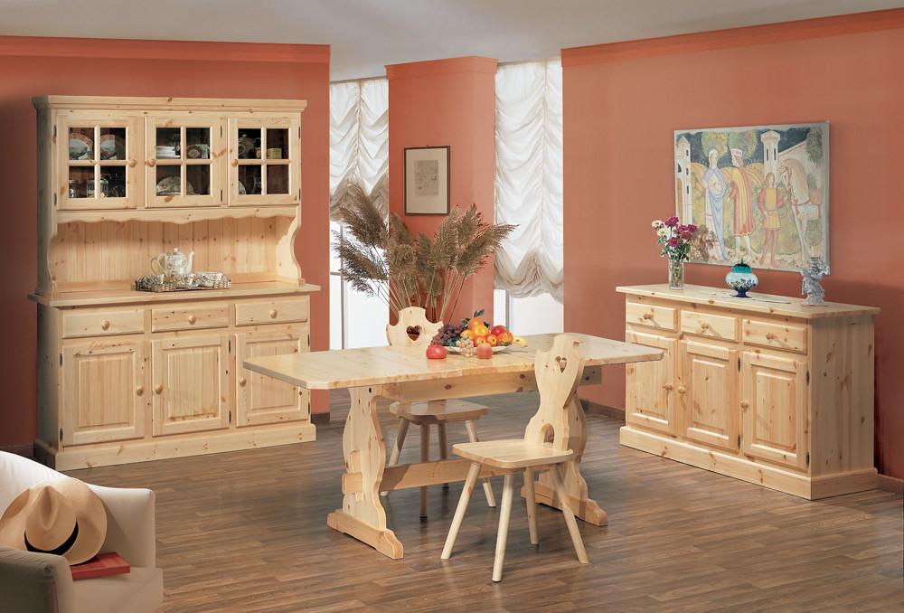 Arredamento rustico interesting rustica in legno di pino for Arredo bar tonolli