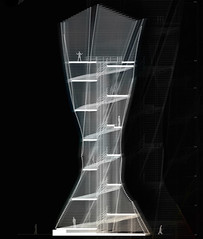 Проект смотровой башни в Италии от Антона Прамстраллера и Алекса Нидеркофлера