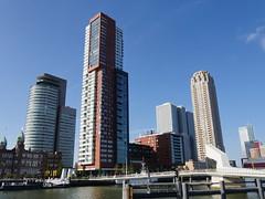 Rotterdam095 (tjabeljan) Tags: newyork de hotel rotterdam erasmus brug bas pays olanda