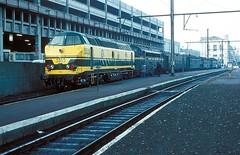 5535 + 5406  Namur  30.12.82 (w. + h. brutzer) Tags: analog train nikon eisenbahn railway zug trains locomotive 55 namur belgien lokomotive diesellok eisenbahnen sncb dieselloks webru