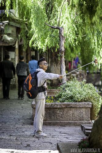 Selfie w Lijiang