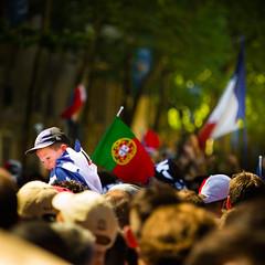 Allez les bleus! (Zeeyolq Photography) Tags: paris france portugal sport football supporter allezlesbleus fanzone euro2016