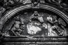 Greyfriars Kirkyard (micahmoreland) Tags: old uk shadow grave graveyard stone dark religious death skull scotland bury scary edinburgh catholic gloomy spirit decay cemetary ghost religion evil haunted creepy figure bones demon haunting vault