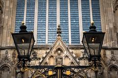 York Minster (Herr Olsen) Tags: york minster cathedral kathedrale symmetry symmetrisch laternen fenster window