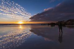 A Lanzada.... reflejos (jojesari) Tags: ar116p 12514 alanzada playadalanzada ogrove sunset ocaso atardecer solpor puestadesol reflejos jojesari suso