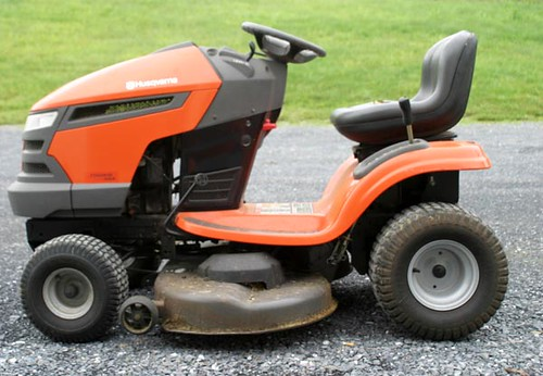 "Husqvarna 20hp, 46"" Cut Riding Mower ($770.00)"