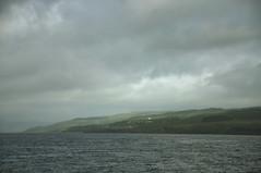 DSC_5163 [ps] - Scatter Heads (Anyhoo) Tags: anyhoo photobyanyhoo oncorryvreckan soundofmull lochaline headland promontary coast shore water sea ripples rain cloud haze mist morvern scotland uk fiunary
