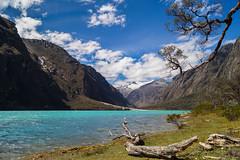 Llanganuco Lagoon | Huaraz, Per (carlo.paredes) Tags: trip blue camping peru turquoise roadtrip adventure huaraz huascaran llanganuco