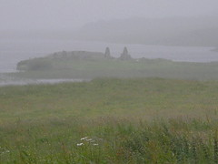 Finlaggan in the rain and scotch mist (billpolley) Tags: scotland islay scotchmist finnlaggan lordoftheislesseat