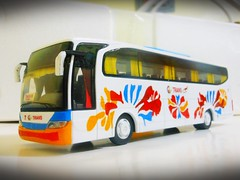 GL Trans Travego Scale model (JanStudio12) Tags: gl trans travego scale model flower livery by janjan paganao janstudio12 pinoy bus fanatic gregory lizardo sagada baguio flowers pbf