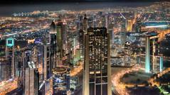 DSC_0708 (rokiely) Tags: nikon d5200 uae dubai nightcolor skyline skyscraper grattacieli emirati arabi uniti