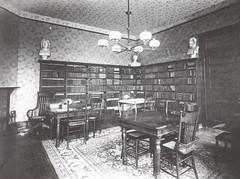 1896 First Library in Davis Hall (University of Rhode Island Photos) Tags: library 1896 davishall page15 125thanniversary firstlibrary vaangermeersch imagesofamericatheuniversityofrhodeisland