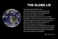 The Globe Lie (ipressthis) Tags: sun moon plane truth flat god earth space yang lie dome reality bible curve yinyang yin universe hoax curvature flatearth atmoshpere nocurve