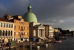San Simeone Venice (stu norris) Tags: san simeone venice italy grand canal water canon eos 50d historic sunset evening dusk