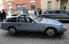 1984 NISSAN 300 ZX TURBO (shagracer) Tags: 300zx nissan 300 zx turbo avenue drivers club b922skn adc queen square bristol classic car meet breakfast