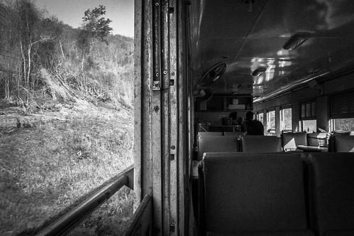 Old Train - Bangkok To Chiang Mai Railway, Thailand.