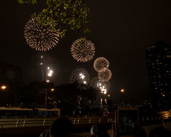 NYC Fourth (Peter E. Lee) Tags: unitednationsplaza macys fireworks dark night ipad nyc newyorkcity burst independenceday summer 2016 fourthofjuly holiday newyork unitedstates us