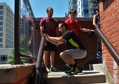 090716_hbuist_0375 (Hilbert 1958) Tags: parkourkingston kingstonsummerparkourworkshop july09 2016 kingston ontario freerunning training exercise sport fitness climbing jumping leaping