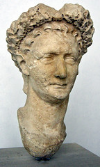 Ancient Rome. Bust of 11th Emperor Domitian (81-96 CE) (mike catalonian) Tags: 1stcenturyce flaviandynasty emperor male head sculpture bust domitian ancientrome