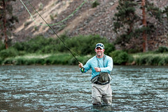 Fly Fishing (Kyle Ford | www.KyleSFord.com) Tags: 2015 canoneos cast fishing flyfishing kyleford river sportsman stock trout washington yakima