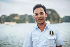 Portrait at Ha Long Bay (ReinierVanOorsouw) Tags: sonya7rii sonya7r sony reizen reiniervanoorsouw reiniernothere travel vietnam asia asya azie halong halongbay water lifeonwater