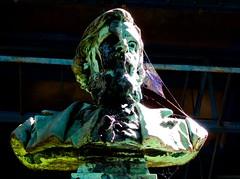 in ora mortis (2) (canecrabe) Tags: statue buste sculpture cimetiremontmartre