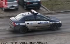 D123 - Opel Astra II - KP Beyce (pawelbednarczyk) Tags: d013 daewoo korando d159 fiat ducato d140 d172 skoda octavia d123 opel astra ii d193 d190 kia sportage d152 corsa d176 aro 245 d173 ford transit d189 fso polonez beyce lubelskie policja radiowz radiowozy komisariat policji hpd