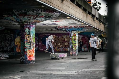 Adrian Bullard - 180 5.0 - Southbank, London - for Jart Skateboards
