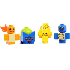 Brick Monsters now available! (X39BrickCustoms .com) Tags: lego new custom monsters printed pokemon