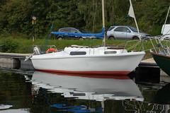 Shafa (2) - My old yacht (daveallison99) Tags: yacht shafa caledonian canal boat inverness