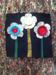 IMG_6016 (Atelier Renata GAM) Tags: curtindo mquina de costura flores feltro crochet