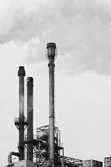 Industry (Harryk59) Tags: factory smoke chimney botlek