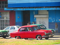 Retro Cars on the Road (shaire productions) Tags: cuba cuban image picture photo photograph photography travel world traveler street road classic vintage old car vehicle cars streets
