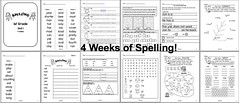 Spelling for 1st Grade - Unit 1 - 4 Weeks (CHSH - Christian Home School Hub) Tags: chsh christianhomeschoolhub chshteach spell