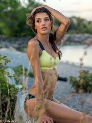 DSC08126 (Tjien) Tags: beach volleyball summer 2016 bfg swimsuit portrait outdoorportrait