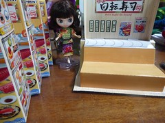 Petit Sushi Go Round ... (lyndell23) Tags: rement sushi miniature miniaturefood playfood