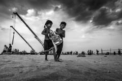 (ayashok photography) Tags: ayp1181 ayashok nikon nikond810 marina marinabeach foreshoreestate ganeshachaturthi ganeshvisarjan ganapathi kids boy girl crane 2016 cwc chennaiweekendclickers