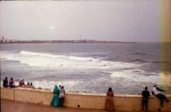 Casablanca, Morocco (harithzeppelin) Tags: fed5b 35mm film fujifilm iso 200 morocco casablanca beach
