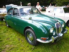 Jaguar S Type 1967 (Alan FEO2) Tags: jaguar stype 1967 green etruria classiccarrally stokeontrent staffordshire car vehicle transport wheels windows windshield windscreen outdoors display panasonic dmc g1 2oef